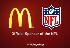 McDonaldsOfficialSponsoroftheNFL